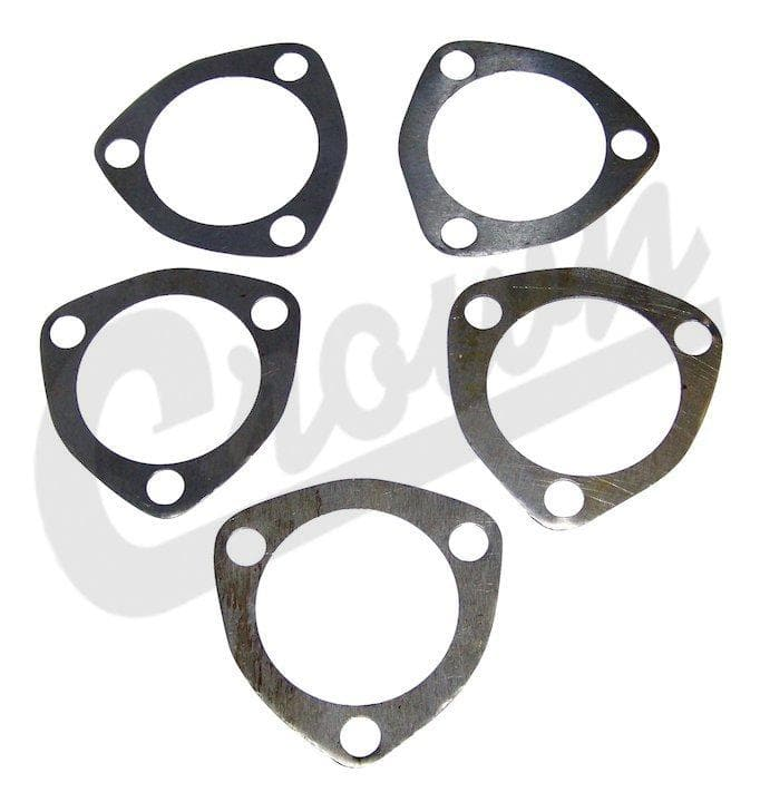 Jeep Crown Steering Worm Shaft Shim Set, Suspension Parts | 1941-1966 Willys & CJ (see more info), A6760