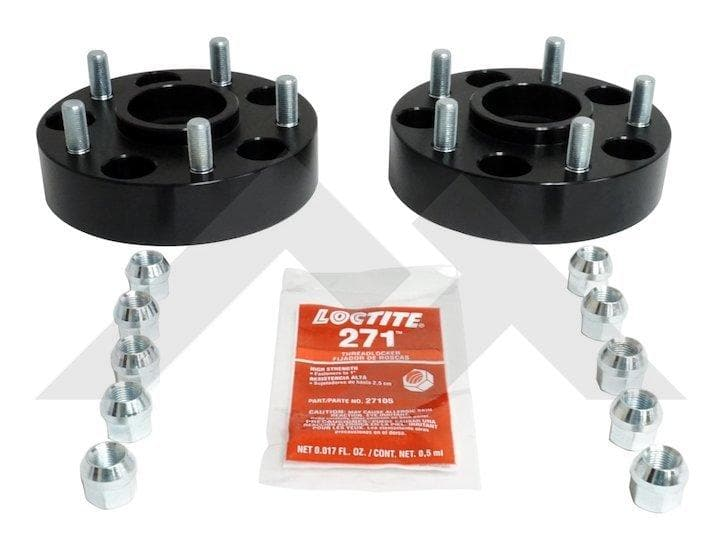 "Rt Off-Road 1.5"" Wheel Spacer Set, 5X5"" Bolt Pattern, Wheel Parts 