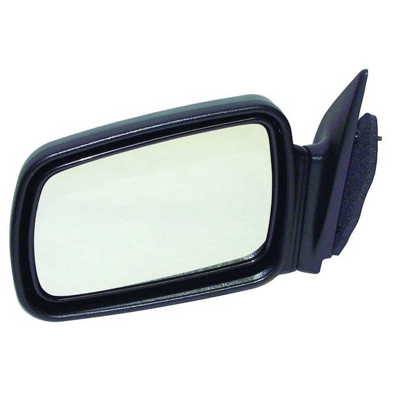 Jeep Crown Left Side Manual Mirror, Black, Sold Individually, Exterior Car Parts | 1993-1998 Grand Cherokee ZJ, 4883019
