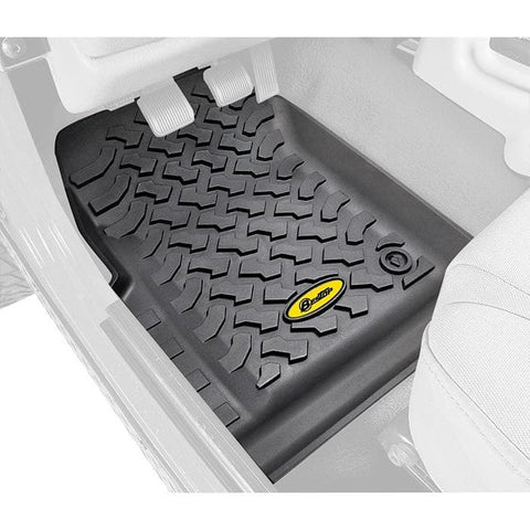 Jeep Bestop Front Floor Liners, Black, Pair, Interior Car Parts | 1997-2006 Wrangler TJ & Wrangler Unlimited TJL, 51509-01