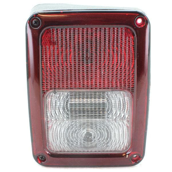 Jeep Crown Tail Light Assembly, Left Side, Exterior Car Parts | 2007-2015 Wrangler JK & Wrangler Unlimited JK, 55078147AC