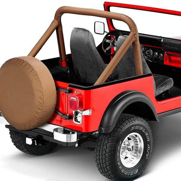Bestop Sport Bar Cover, Tan | 1980-1986 CJ5, CJ7, CJ8, 80007-04