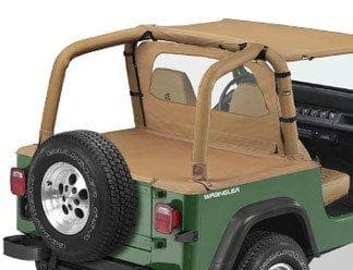 Bestop Sport Bar Cover in Spice Brown | 1992-1995 Wrangler YJ, 80009-37