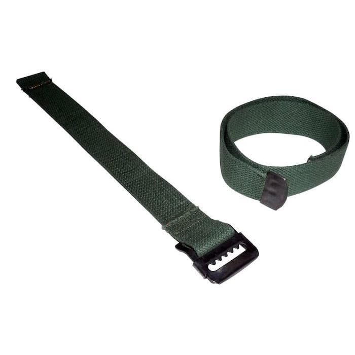 Crown Jerry Can Strap Set, Green, Body Parts | 1941-1945 Willys MB & Ford GPW, A4127