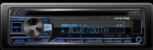 Alpine Cde-175Bt In-Dash Car Stereo With Cd/am/fm And Bluetooth, Interior Car Parts, ALP-CDE-175BT