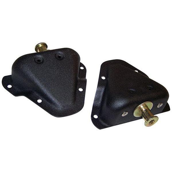 Jeep Crown Door Striker Kit, Black, Exterior Car Parts | 1981-1995 (see more info), 550294545K