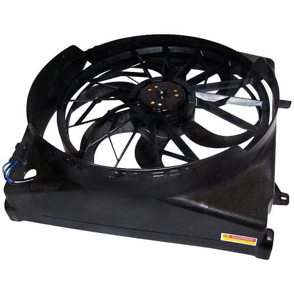 Jeep Crown Electric Cooling Fan Assembly | 2004-2006 Liberty KJ (see more info), 55037691AB