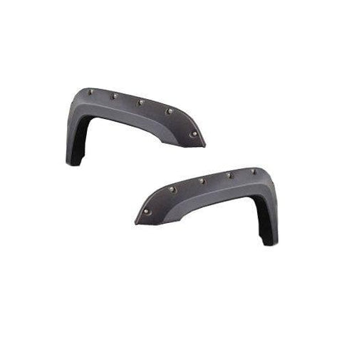 Jeep Bushwacker, Cut Out Fender Flares, Front, (Pair), Exterior Car Parts | 1999-2004 Grand Cherokee WJ, BSW-1007107