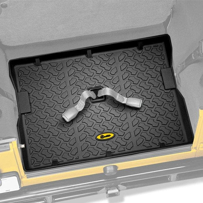 Jeep Bestop Rear Cargo Liner, Black | 1987-2006 Wrangler TJ, Unlimited TJL & YJ, 51512-01