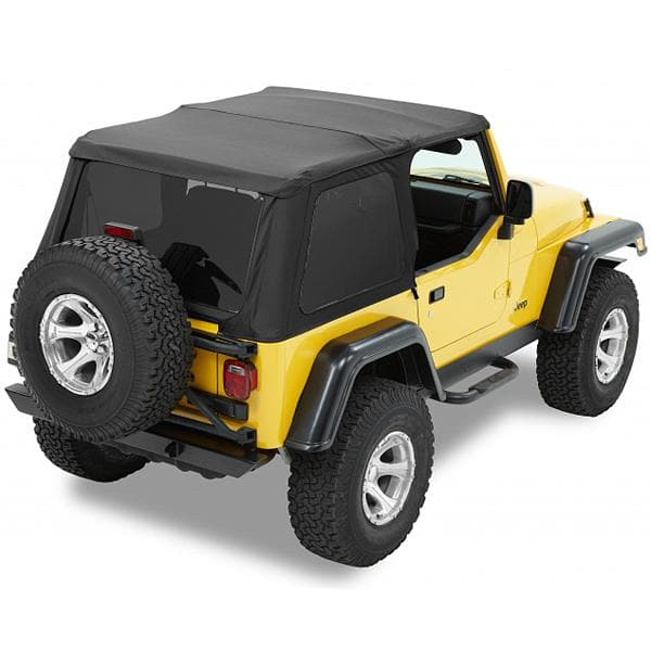 Bestop Trektop Nx With Tinted Side And Rear Windows, Black Diamond | 1997-2006 Wrangler TJ, 56820-35