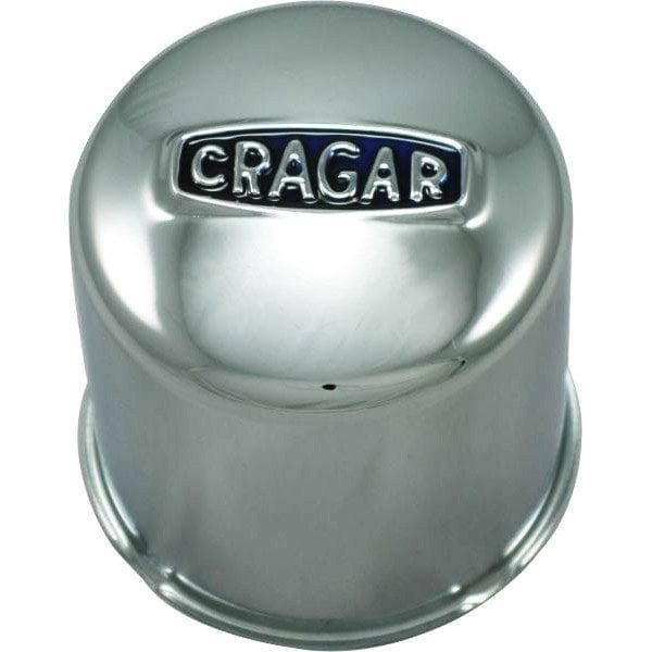 Jeep Cragar Closed Center Cap With Logo, Chrome, Sold Individually, Wheel Parts | 1976-2015 (see more info), CRAG-29270-1
