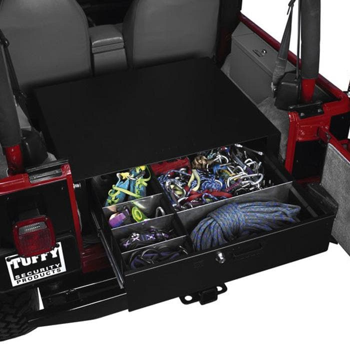 Tuffy Divider Kit For Security Drawer | 2007-2017 Wrangler JK & Unlimited JK & FJ Cruiser, 141-07
