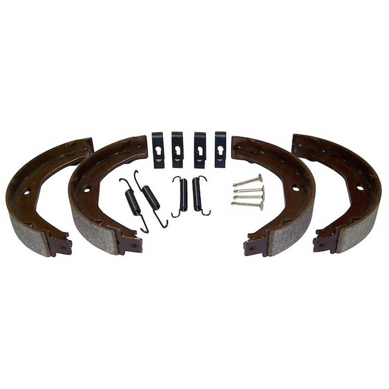 Jeep Crown Replacement, Parking Brake Shoe & Lining Set, (Both Sides) | 1999-2004 Grand Cherokee WJ, WG, 5011988AA