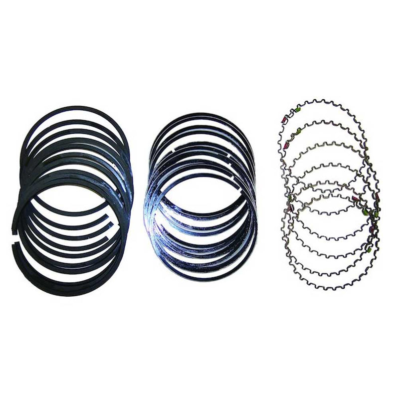 Jeep Crown Piston Ring Set, Standard Bore | 1996-2006 with 4.0L 6 Cylinder Engines, 4798878