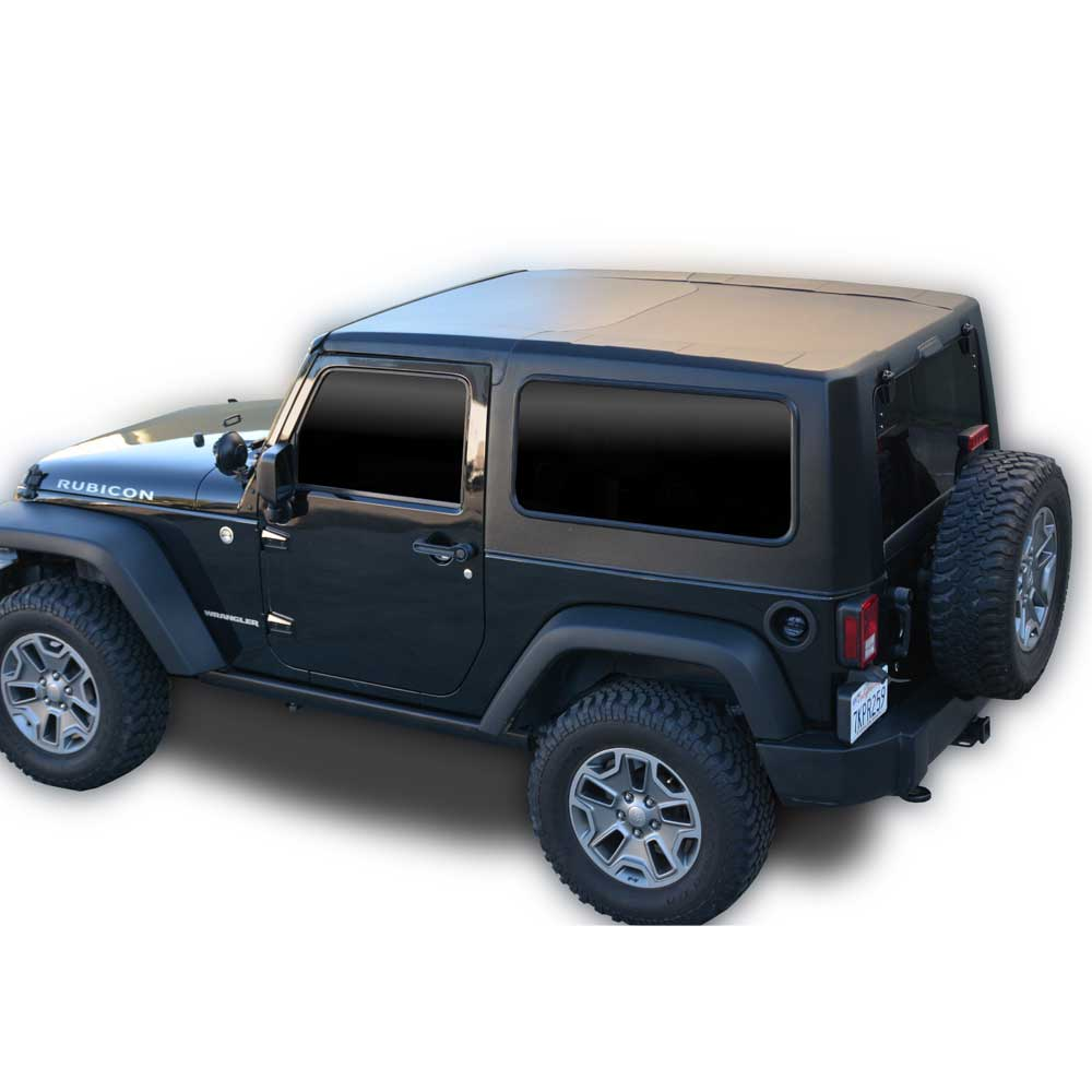 Jeep Dv8 Off-Road Hard Top 2 Piece, Black, Exterior Car Parts | 2007-2017 Wrangler JK, DV8-HT07SB22