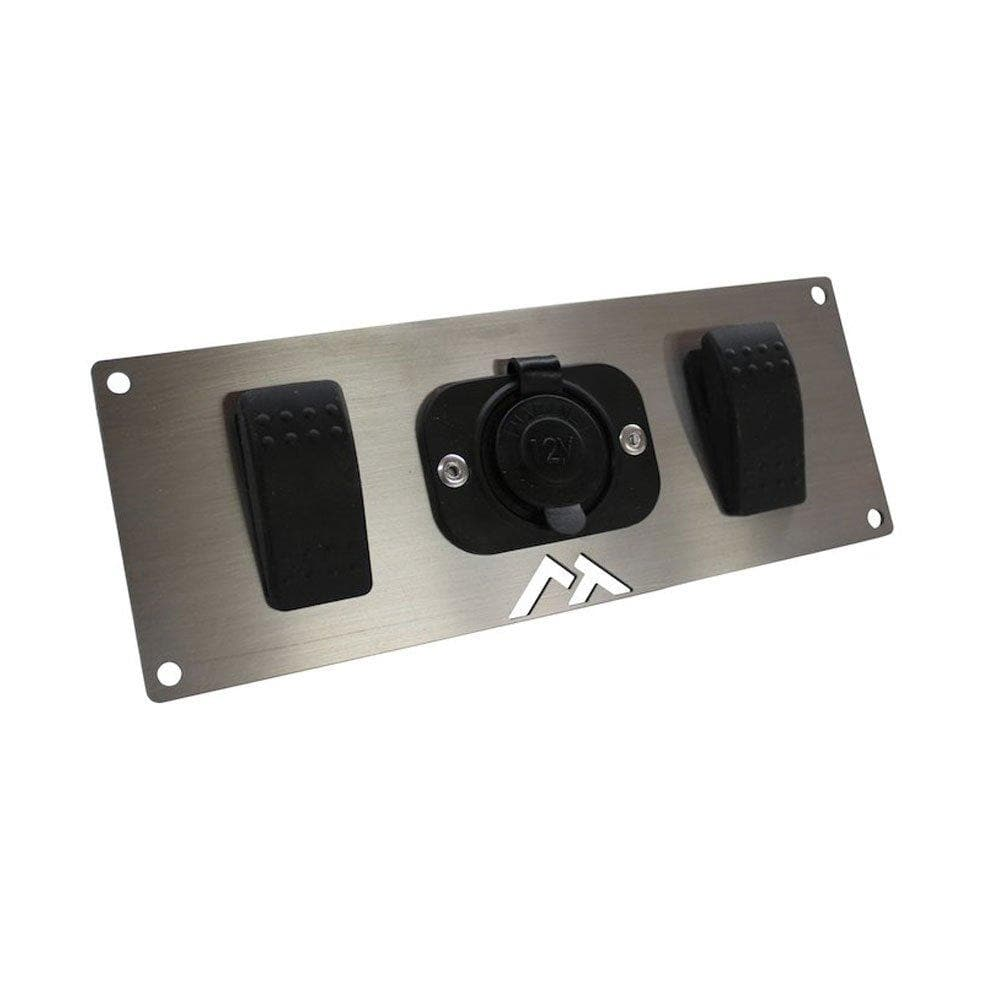 Rt Off-Road Switch Plate, 2 Switches, Exterior Car Parts, RT29007