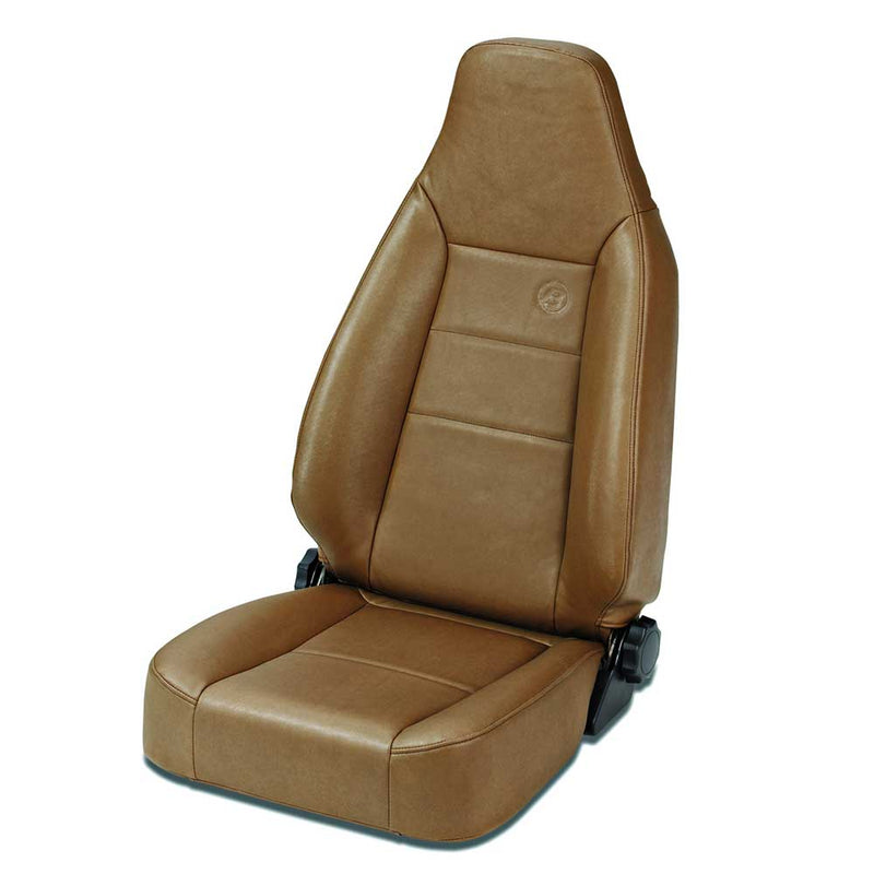 Bestop Trailmax Ii Sport Seat, Reclining, Vinyl, in Spice Brown | 1976-2006 , 39434-37