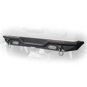 Dv8 Off-Road Rear Bumper With Led Lights, Exterior Car Parts | 2018 Wrangler JL & JL Unlimited, DV8-RBJL-03