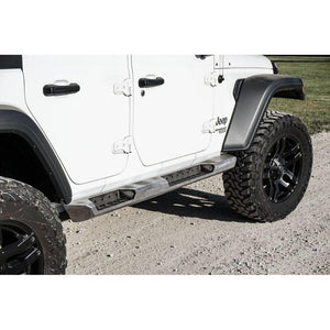 Lod Jl Destroyer Rocksliders, 4-Door, Bare Steel, Exterior Car Parts | 2018 Wrangler JL Unlimited, LOD-JRS1804