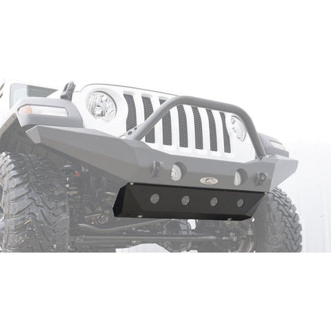 Jeep Lod Jl Destroyer Front Bumper Skid Plate, Black Powdercoat, Exterior Car Parts | 2018 Wrangler JL & Wrangler JL Unlimited, LOD-JSP1801