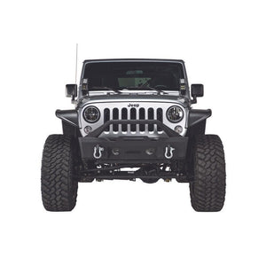 Havoc Offroad Front Stubby Bumper With Bull Bar For 07-18 Jk/jku, Exterior Car Parts | 2007-2018 Wrangler JK & Wrangler JK Unlimited,