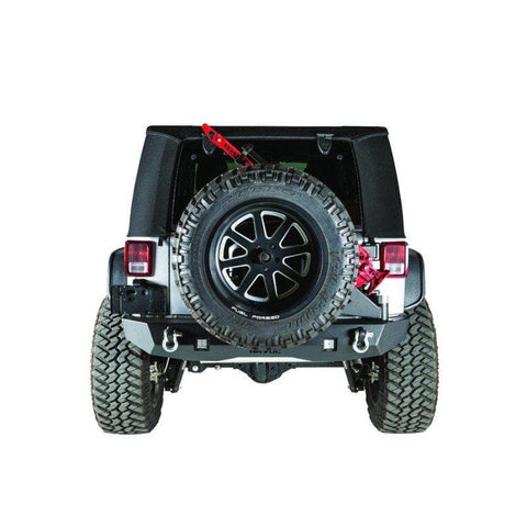 Havoc Offroad Rear Bumper with Tire Carrier for 07-18 JK/JKU, HPG-43-20202