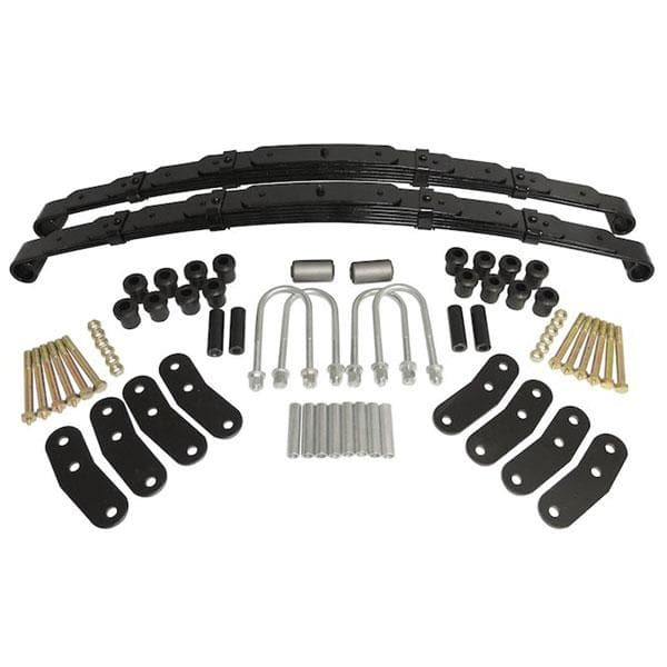 "Jeep Crown 1""- 1.5"" Rear Leaf Spring Kit, Suspension Parts 