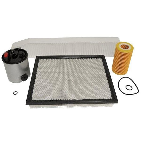 Jeep Crown Master Filter Kit For 2.7L Diesel Engine | 2002-2004 Grand Cherokee WG (Europe), MFK2