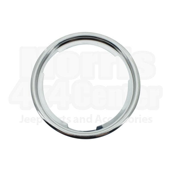 Jeep Mts Parking Light Bezel, Stainless Steel , Sold Individually, Exterior Car Parts | 1969-1976 CJ5, CJ6 & CJ7, MTS-979726