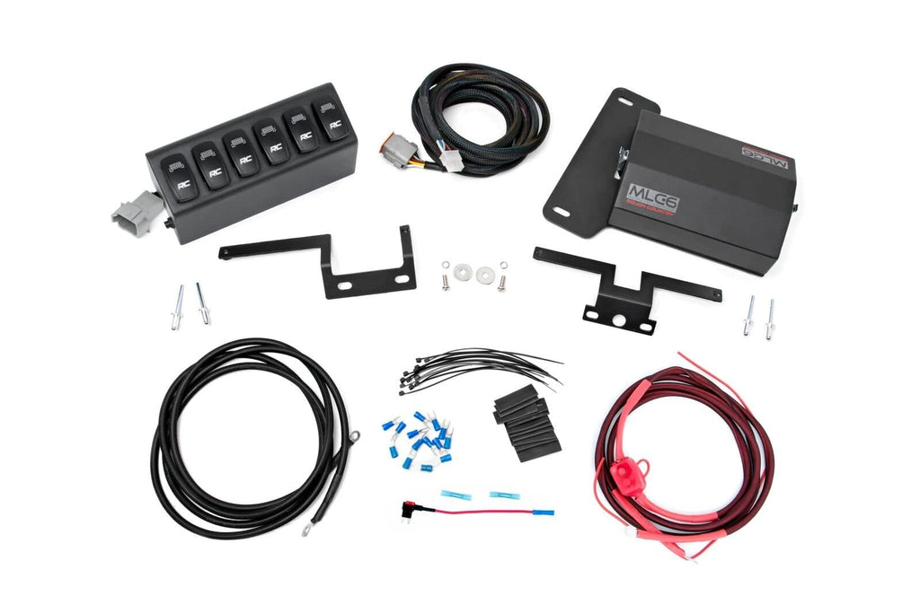 Jeep Rough Country Mlc-6 Multiple Light Controller For Jk, Exterior Car Parts | 2007-2018 Wrangler JK, RC-70959
