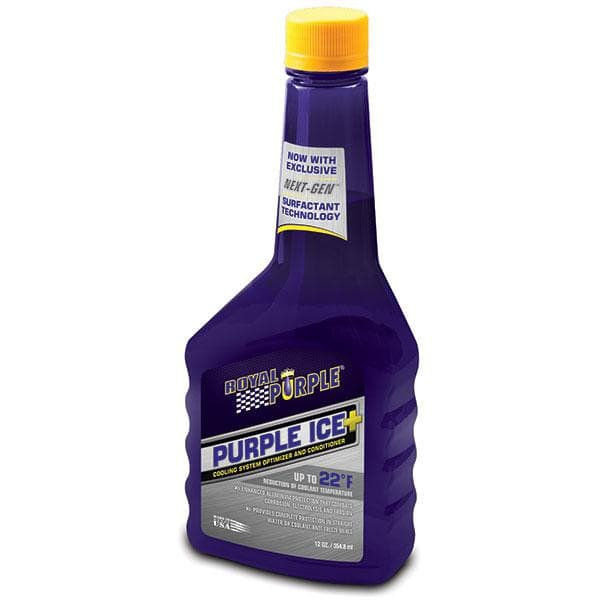 Royal Purple Purple Ice Super-Coolant Radiator Additive, 12 Oz. | Coolant Radiator Additive, RPL-01600