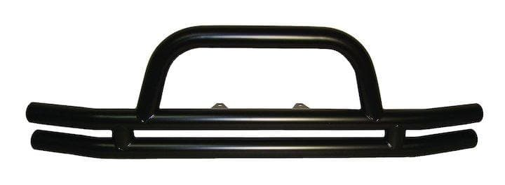 Jeep Rt Off-Road Front Double Tube Bumper, Black, Exterior Car Parts | 2007-2017 Wrangler JK & Wrangler Unlimited JK, RT20018
