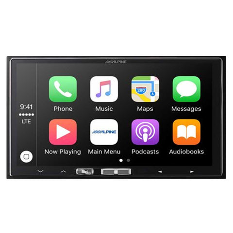 "Alpine Ilx-107 7"" Mech-Less In-Dash Receiver With Wireless Apple Carplay, Interior Car Parts, ALP-ILX-107"