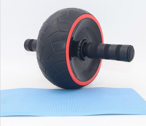 AB wheel abdominal strengthening round abdominal retraction pure natural rubber abdominal muscle round roller abdominal training