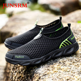 Summer Outdoor Water Shoes Breathable Mesh Creek Beach Quick Dry Wading Upstream Non-Slip Lightweight Fishing Net Water Shoe