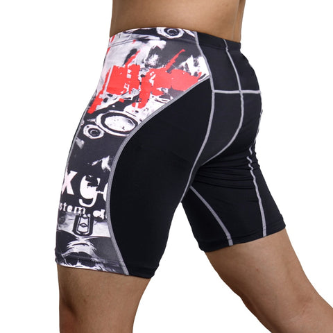 Men Compression Running Shorts