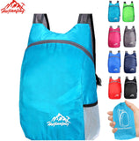 20L Lightweight Portable Foldable Backpack Waterproof Backpack Folding Bag Ultralight Outdoor Pack for Women Men Travel Hiking
