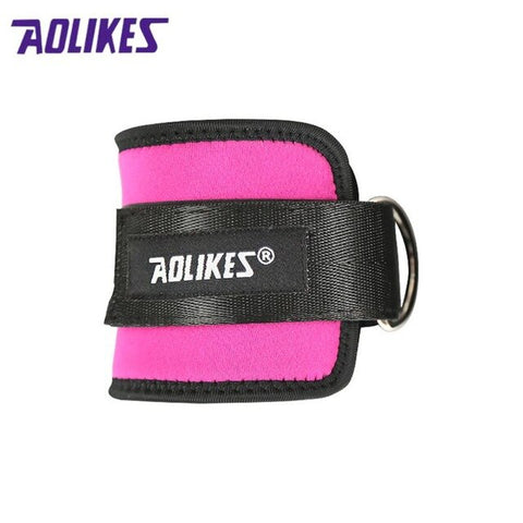 AOLIKES Adjustable Ankle Guard Strap Thigh Leg Pulley Weight Lifting Legs Strength Recovery Training Protection Ankle support