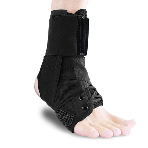 1PC Tendonitis Sprain Recovery Pressurized Brace Ankle Protector Adjustable Bandage Fastening Tape Achilles Hiking Sports Injury