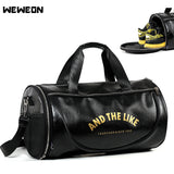 Classic Style Gym Bag with Shoes Storage