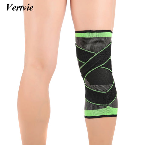 Neon Colour Pressurized Knee Wrap