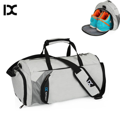 Casual Gym Bag with Independent Shoes Storage