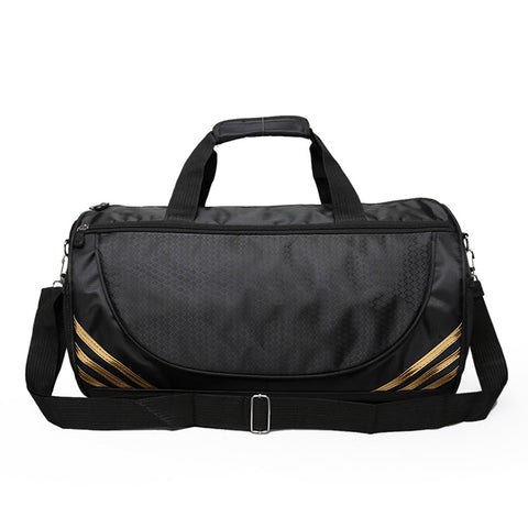 Simple Black Sports Bag