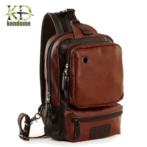 High Quality Leather Gym Bag