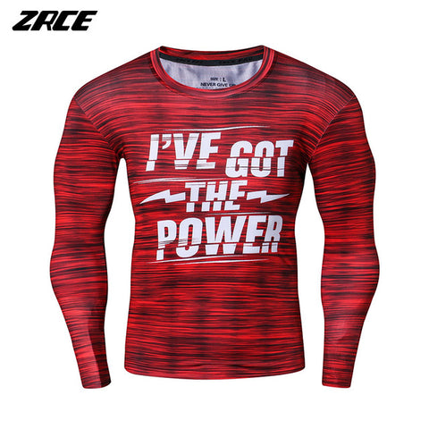 ZRCE New Fitness 3d Print Male T Shirt Quick Dry Flexible Plus Size Bodybuliding Running Sport Trainning Exercise Tee
