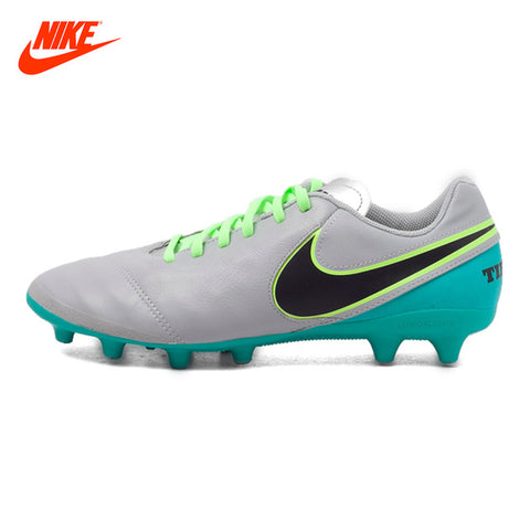 Original New Arrival New Arrival NIKE Tiempo  Men's Comfortable Football Boots Breathable