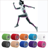 5cm x 5M Kinesio  Muscle Bandage Sports Kinesiology Tape Roll Cotton Elastic Bandage