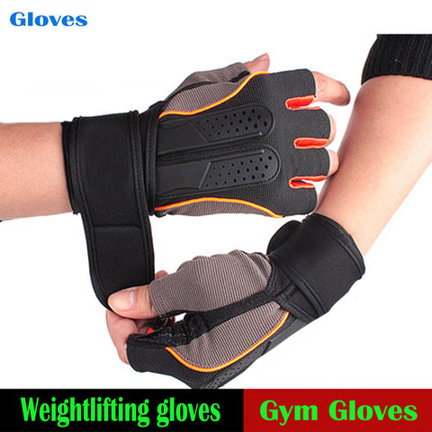 Slip Resistance Tactical Weightlifting Gloves