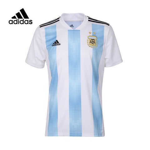 Adidas Argentina Messi Man Football T-shirt Breathable Short Sleeve Soccer  Sports Wear BQ9324