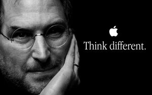 Steve Jobs Announces Think Different Campaign